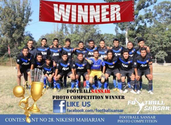 Contestant no 28. Nikesh Maharjan